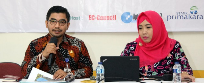 Narasumber Kepala Barenlitbang Kota Malang Muhammad Anis Januar, M.T