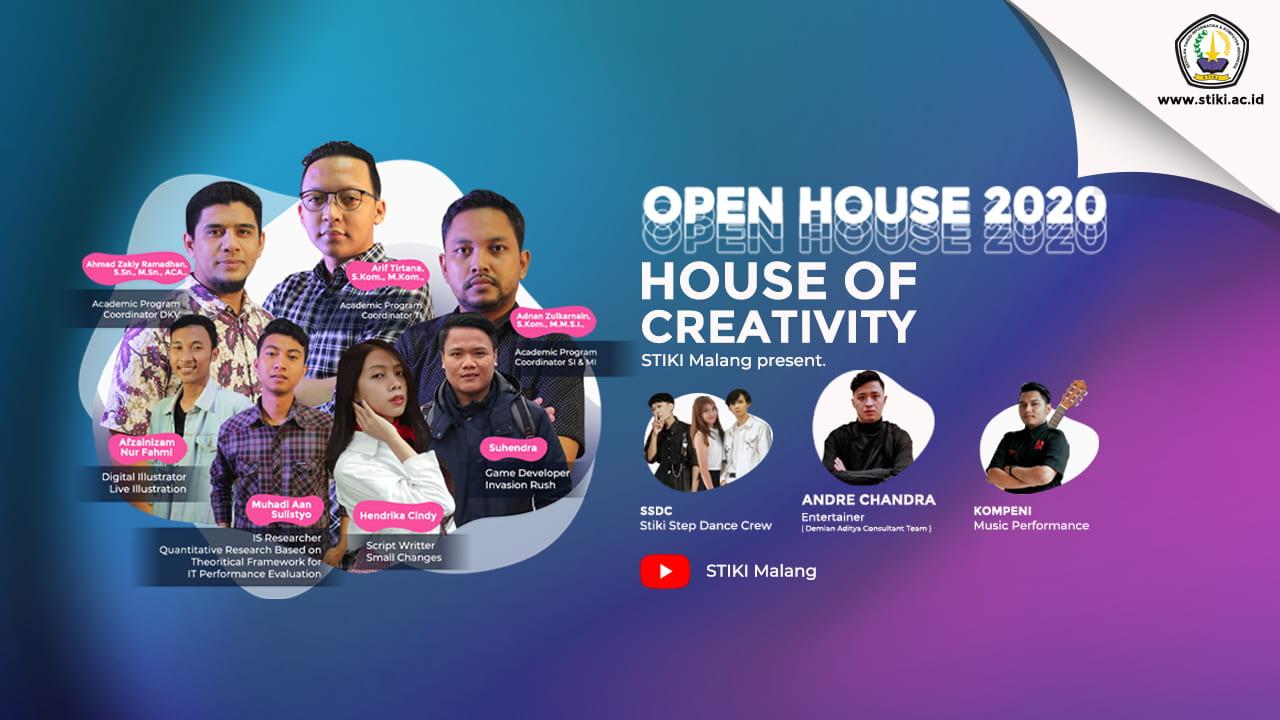 'Rumah Kreativitas', Tema Open House STIKI 2020